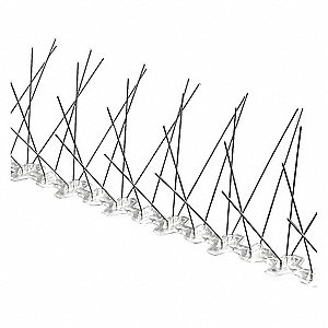 Bird Repellent Spikes, Weight: 10.65 lb., Used For Bird Control
