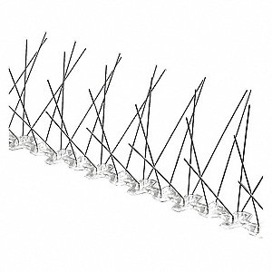 Bird Repellent Spikes, Weight: 2.80 lb., Used For Bird Control