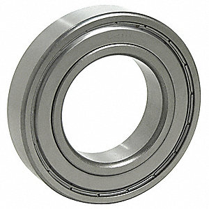 Radial Ball Bearing, Double Shield Bearing Type, 10mm Bore Dia., 30mm Outside Dia.