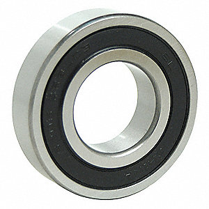 "Radial Ball Bearing, Double Sealed Bearing Type, 0.3125"" Bore Dia., 0.8750"" Outside Dia."