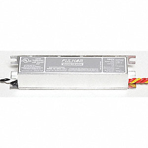 Electronic Ballast, 35 Max. Lamp Watts, 120 V, Instant Start, No Dimming