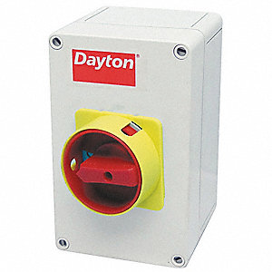 Dayton Nonfusible Enclosed Disconnect Switch General Duty