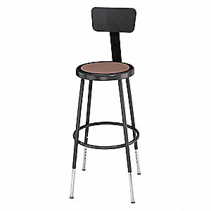 Stool,Yes Backrest,25 in. to 33 in.