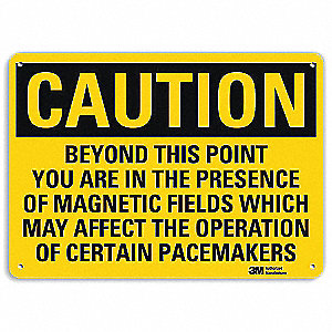 "Health Hazard, Caution, Recycled Aluminum, 7"" x 10"", With Mounting Holes, Engineer"