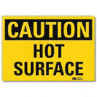 Caution: Hot Surface Signs