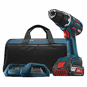 "18V Compact Li-Ion 1/2"" Cordless Drill/Driver Kit, Battery Included"