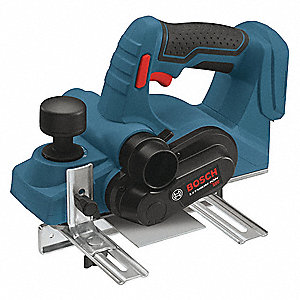 "Cordless Planer, Voltage 18.0 Li-Ion, 3-1/4"" Cutting Width"