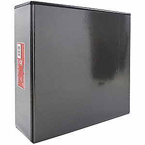 "3-Ring Binder,3"",Black"