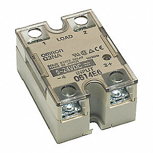 3-Pole Surface Mount Solid State Relay&#x3b; Max. Output Amps w/Heat Sink: 40