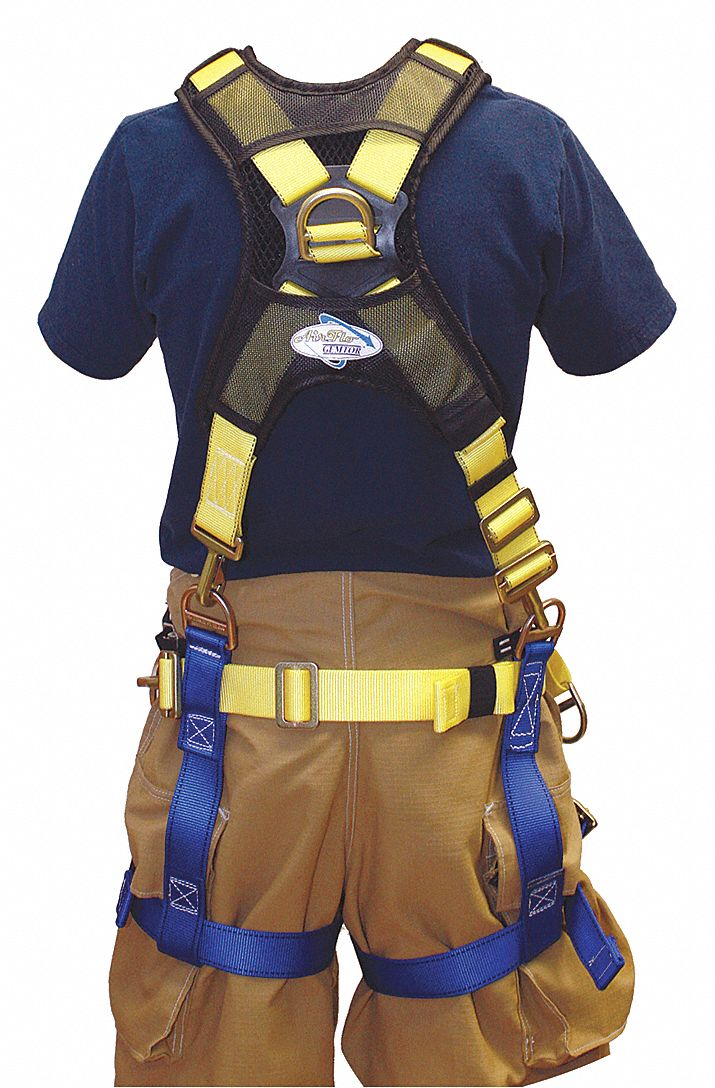 Rescue Harness,  Class lll,  Fits Waist Size 36 in to 50 in,  63 in to 72 in Height Range