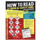 How to Read A Chemical Safety Label Posters