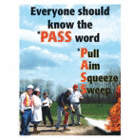 Everyone Should Know The PASS Word Posters
