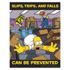 Slips Trips Falls Can Be Prevented Posters
