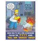 Know How to Use A Fire Extinguisher Follow The PASS Word Posters