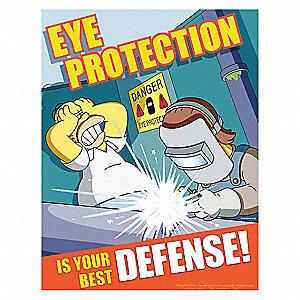 safetyposter com simpsons safety poster eye protection en   35lh93 s1156   grainger