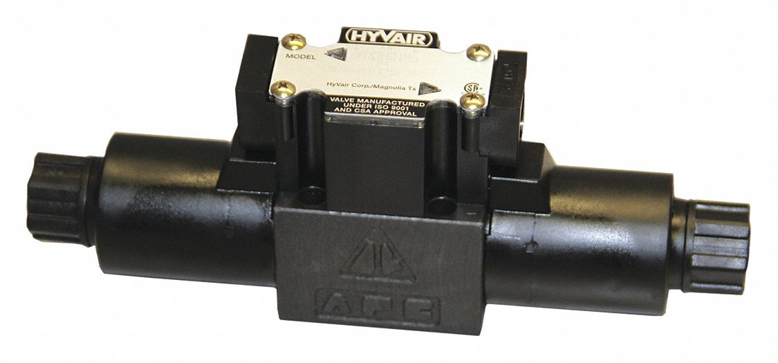 "8.07 in"" x 1.81 in"" x 3.48 in"" Solenoid Operated Hydraulic Directional Valve"