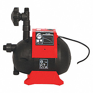 External Pressure Pump, For Use With Black Diamond Rain Barrels and Bladders, 1 EA