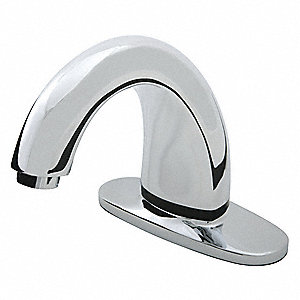 Brass Commercial Faucet, Sensor Handle Type, No. of Handles: 0