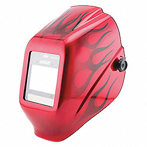 "WH40 Insight Series, Auto-Darkening Welding Helmet, 9 to 13 Lens Shade, 3-15/16"" x 2-3/8"" Viewing Ar"