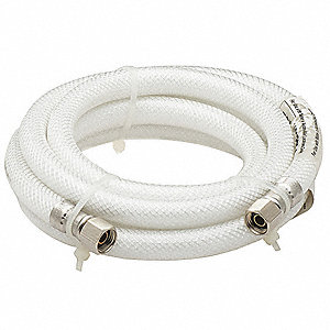 "72""L Polyflex Water Connector for Refrigerator Water Supply"