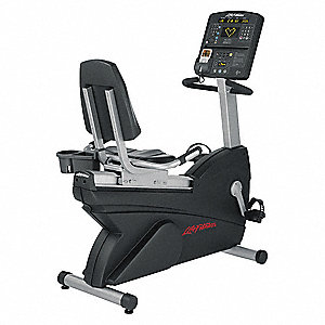 "54"" x 26"" x 51"" Recumbent Bike with Poly V Belt Drive System and 400 lb. Max. Weight"