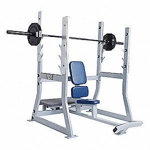 "56"" x 48"" x 55"" Workout Military Bench"