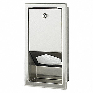 "16"" x 8"" x 4"" Changing Station Liner Dispenser, For Use With Mfr. Model No. 036-LCR, 036-NWL"
