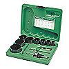 """Kit de Broca Sierras para Electricista para Metales, Número de Piezas 13, Rango de Tamaños de Sierra: 3/4"""" a 2-1/2"""""""