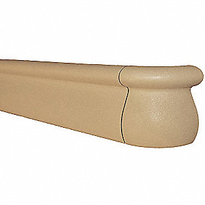 Handrail,1000 Series,144 In,Beige