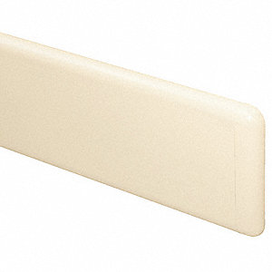 Wall Guard End Cap,7-3/4InH,AntiqueWhite