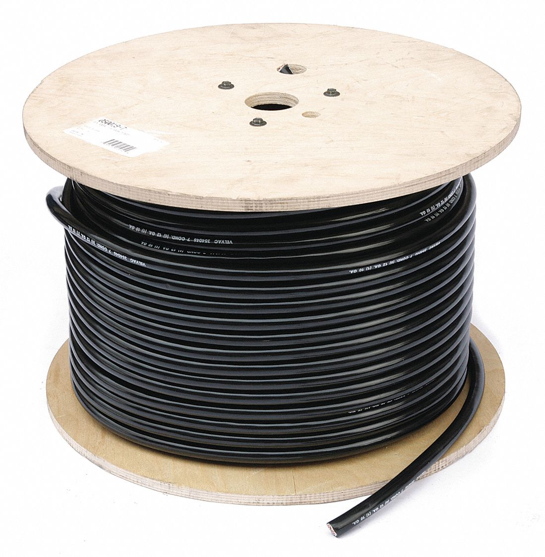VELVAC 500 ft. PVC Trailer Cable with 7 Conductor(s), (6) 12 AWG, (1 ...