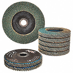 Flap Disc,Type 27,4-1/2 in.,36 Grit