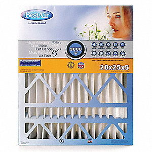 Bestair Pro Furnace Air Cleaner Furnace Air Cleaner Filter