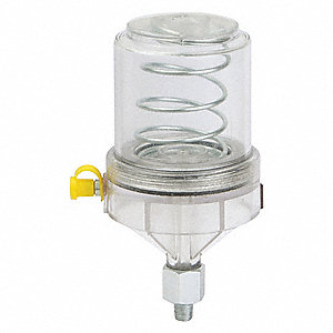"Grease Feeder, 6 oz. Capacity (Oz.), 6 Height (In.), 1/8"" NPT, 3 Dia. (In.)"