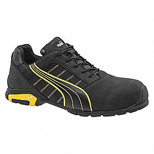 Athletic Style Work Shoes,7EE,Black,PR
