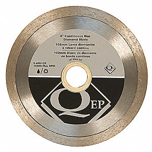Diamond Saw Blade,Masonry,4 in. Dia.