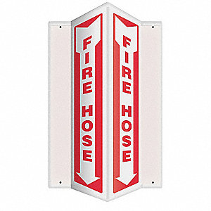 Sign,Fire Alarm,24x7-1/2in