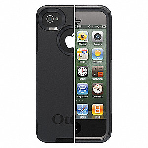Commuter Phone Case,iPhone 4S,Black