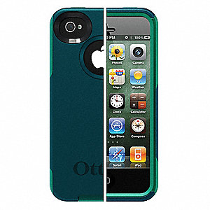 Commuter Phone Case,iPhone 4S,Teal