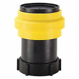 PF Series Shut-Off FNPT Non-Spill Quick Coupler for Bulk Storage and Transfer/Fill/Dispense of Chemi