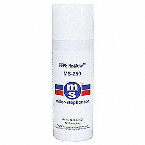 Cleaner/Degreaser,  4 oz. Cleaner Container Size,  Aerosol Can Cleaner Container Type