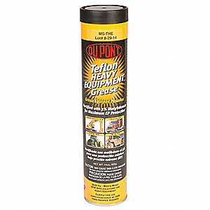 Gray PTFE Multipurpose Grease, 14 oz., NLGI Grade: 2