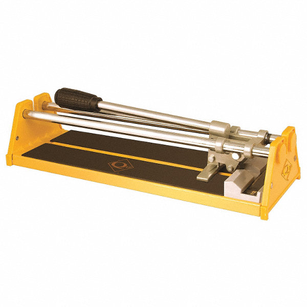 Ceramic Tile Cutter ~ Qep tile cutter in cap yellow t q