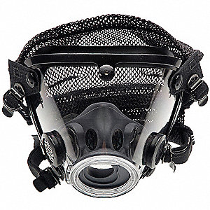 Full Face Respirator, Headnet Suspension, XL