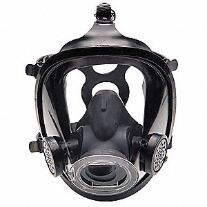 Full Face Respirator, Headnet Suspension, M
