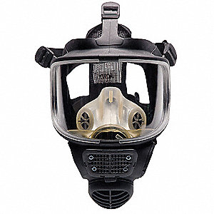 Full Face Respirator, EDPM Rubber Facepiece
