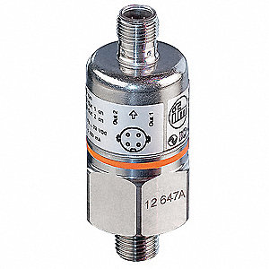 "1/4"" MNPT Pressure Transmitter 0 to 15 psi, 4 to 20mA DC Output"