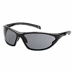 PMXCITE Scratch-Resistant Polarized Safety Glasses, Gray Lens Color