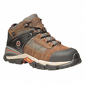 Hiking Boots,Mens,7-1/2,W,Lace Up,PR