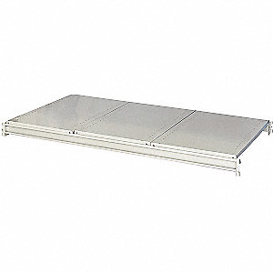 Bulk Rack Shlf,60x36in,Lght Gray,3500 lb